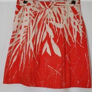 Kenneth Cole a line coral pocket skirt